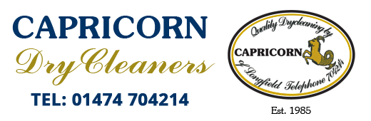Capricorn Dry Cleaners. 01474 704214